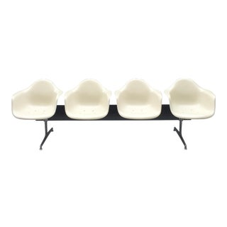 Tandem Four-Seat Shell Chair Bench