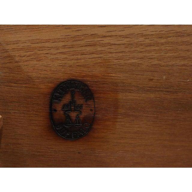Kittinger Mandarin Style Bachelor Chest Dresser Blue and White Lacquer For Sale - Image 10 of 12