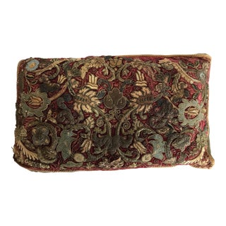 1920s Tapestry Fragment Pillow For Sale