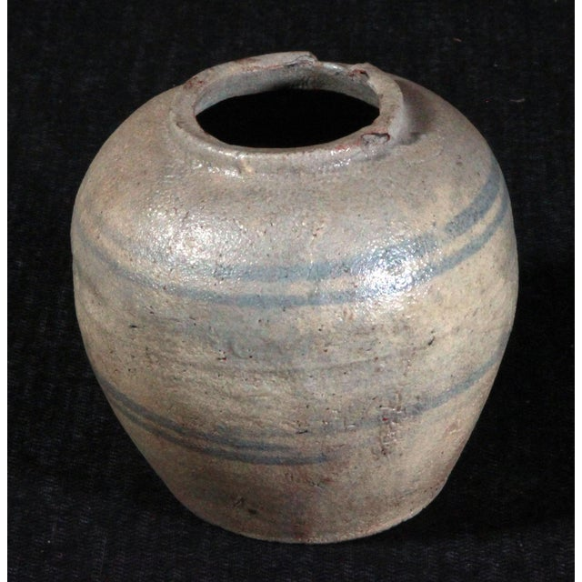 19th Century Chinese Provincial Blue & White Jar - Image 2 of 11