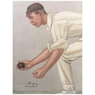 Original 1902 Vanity Fair Cricket Print by Digby Loder Jephson Preview