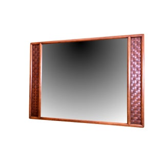 Lane Perception Mid Century Modern Wall Mirror For Sale