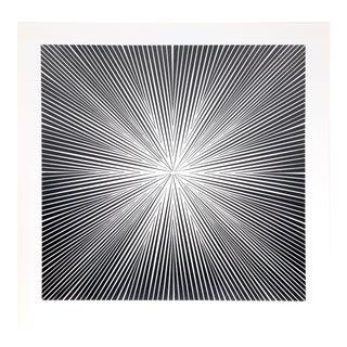 "1960s Roy Ahlgren, ""Energia I"", Op Art Screenprint For Sale"