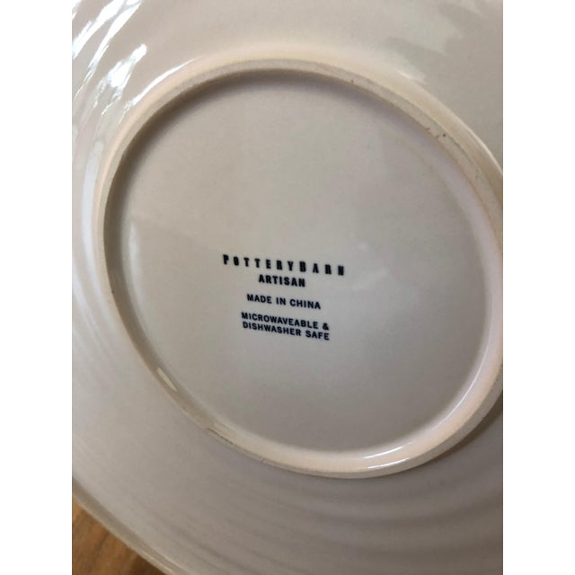 Ceramic Large Pottery Barn Platter For Sale - Image 7 of 8