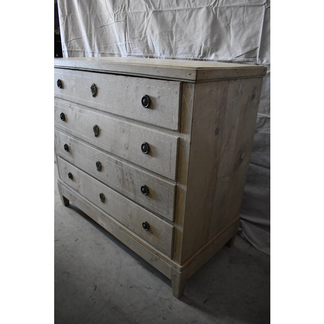 Bleached Danish Chest For Sale - Image 4 of 7