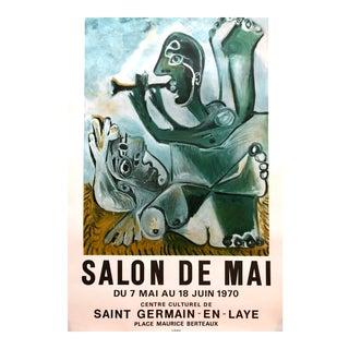 Picasso Salon De Mai Poster Mourlot Orig, 1970s
