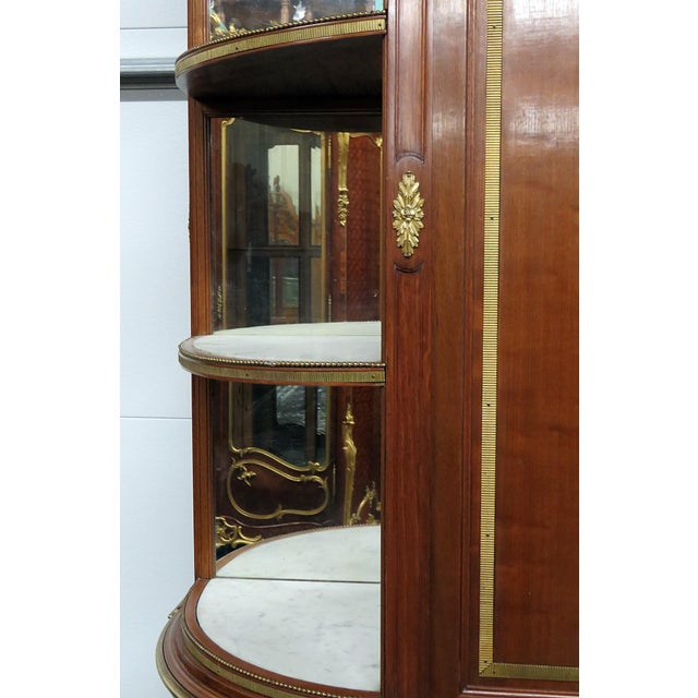 19thC Directoire Style China Cabinet For Sale In Philadelphia - Image 6 of 11