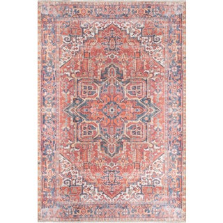 Momeni Chandler Zara Red 2' X 3' Area Rug For Sale