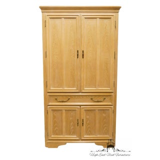 """Stanley Furniture Solid Oak 42"""" Armoire Preview"""
