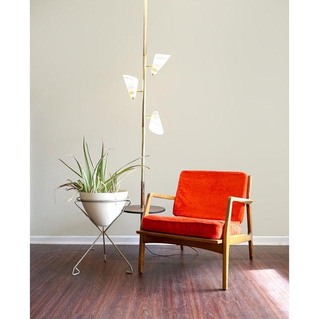 Ib Kofod Larsen Style Mid-Century Danish Modern Lounge Chair - Image 3 of 6