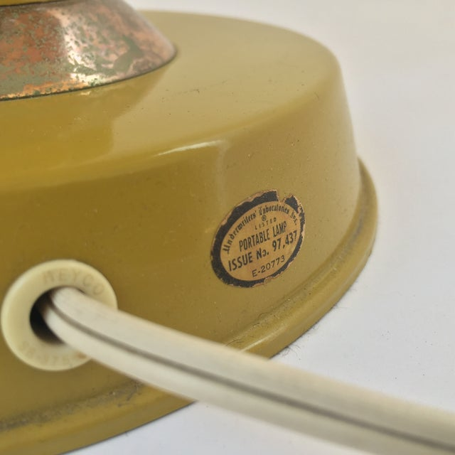Gerald Thurston Table Lamp in Mustard - Image 9 of 9