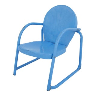 Mid-Century Outdoor Child's Chair For Sale