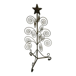 Vintage Brass Christmas Tree For Sale