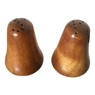 "Danish Modern ""S & P"" Salt & Pepper Shakers"