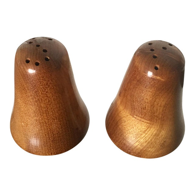 "Danish Modern ""S & P"" Salt & Pepper Shakers - Image 1 of 5"
