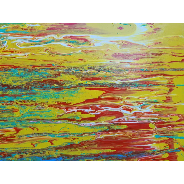 Contemporary Abstract Expressionist Painting For Sale - Image 4 of 10