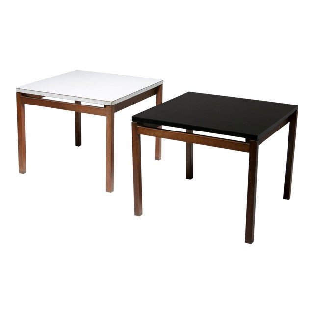 Set of Two Side Tables by Florence Knoll for Knoll For Sale
