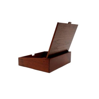 Handcrafted Jewelry Box by Ejnar Larsen and Aksel Bender Madsen for Willy Beck For Sale