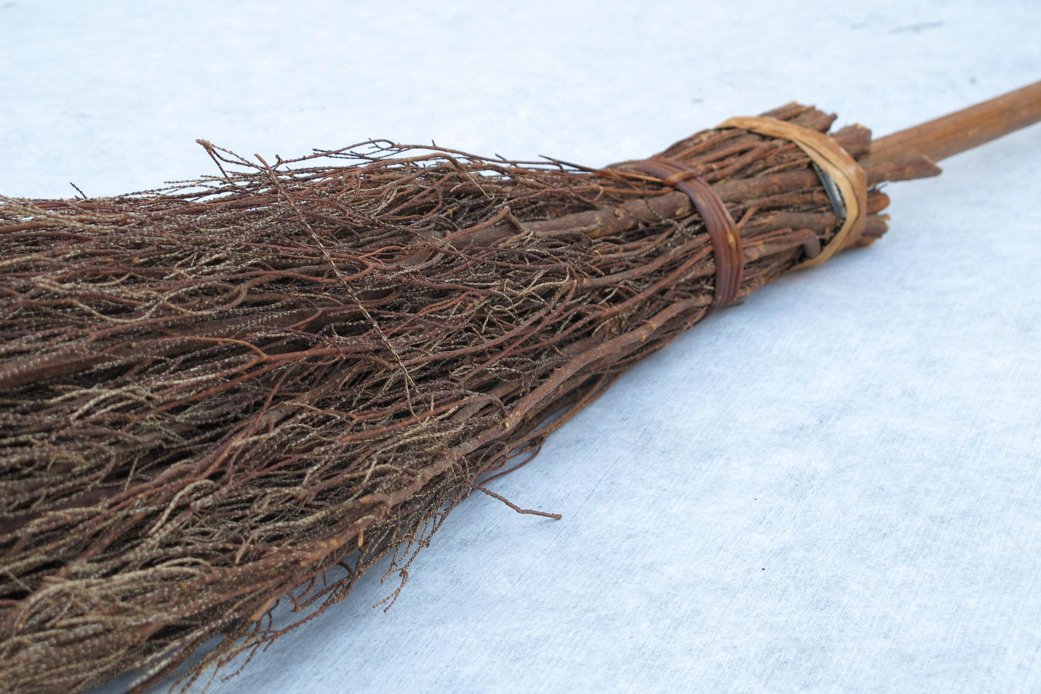 19th Century Fireplace Broom Chairish