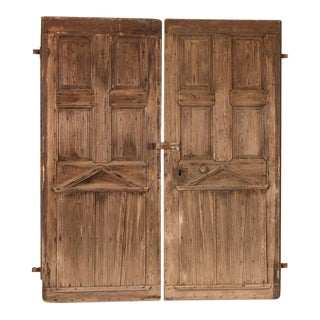 Antique Old Swedish Doors - a Pair For Sale