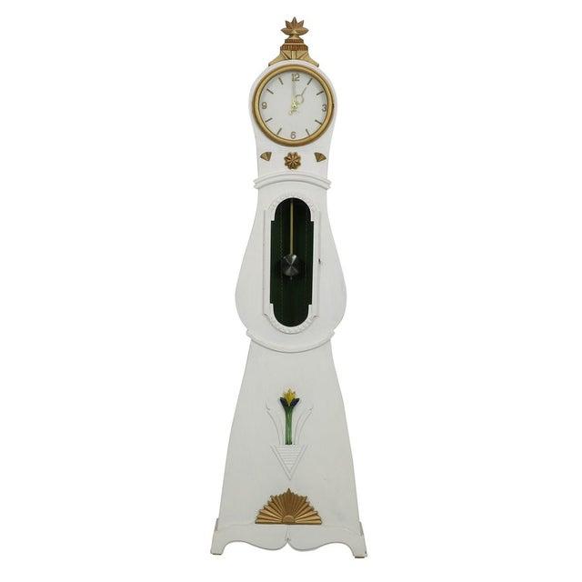 Mid-Century Modern 20th Century Vintage Swedish Mora Clock For Sale - Image 3 of 3
