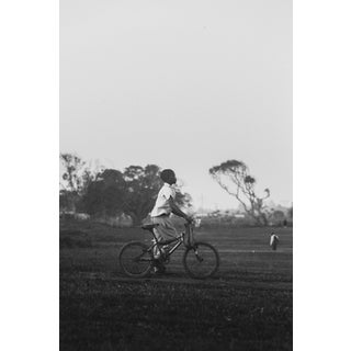"""Contemporary Photography """"Bicycle Boy"""" by Douglas Condzo For Sale"""