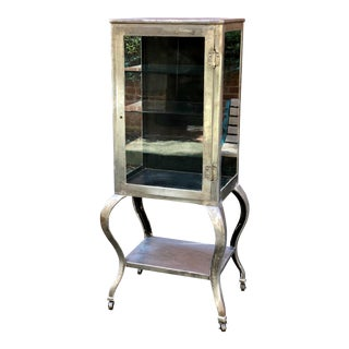 1920s Queen Anne Style Medicine Cabinet For Sale