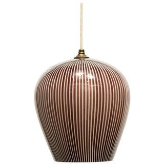 Italian Venini Pendant Light by Massimo Vignelli For Sale