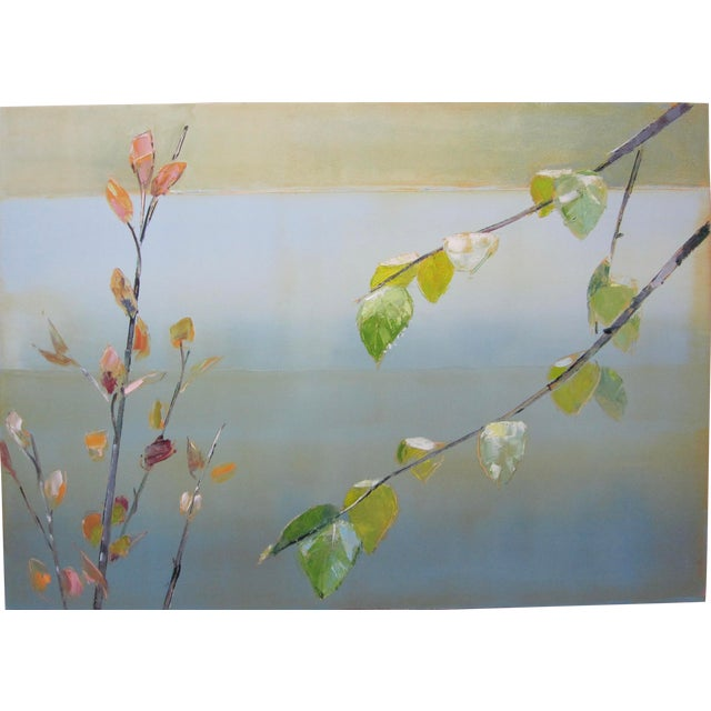 Stephen Pentak Tree Branches Contemporary Oil Painting For Sale