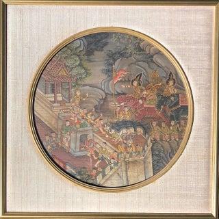 Original Thai Painting, 18th Century For Sale