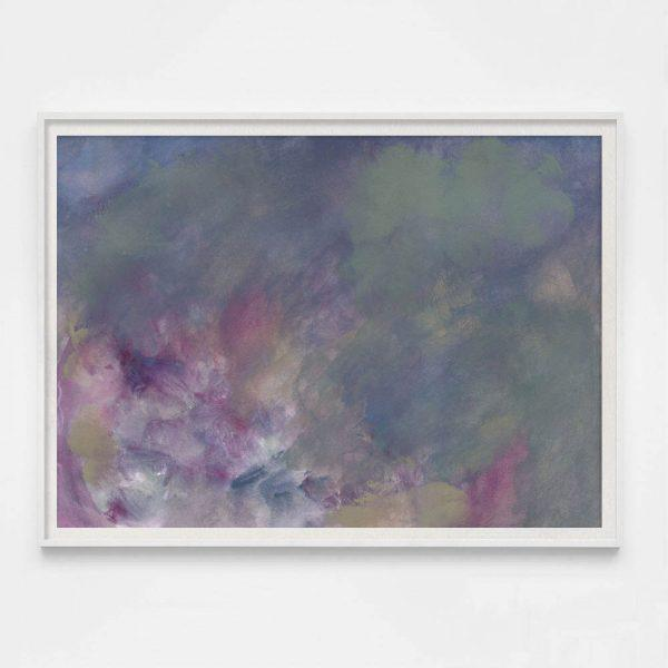 "Abstract Molly Frances ""Cumulus No. 6"" Unframed Print For Sale - Image 3 of 3"