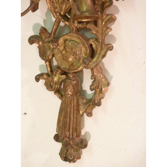 19th Century Neoclassical Giltwood Sconce For Sale - Image 4 of 6