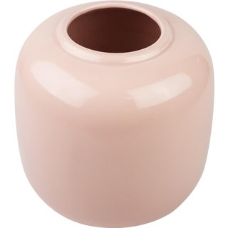 1980s Contemporary Pink Haeger Ceramic Vase For Sale