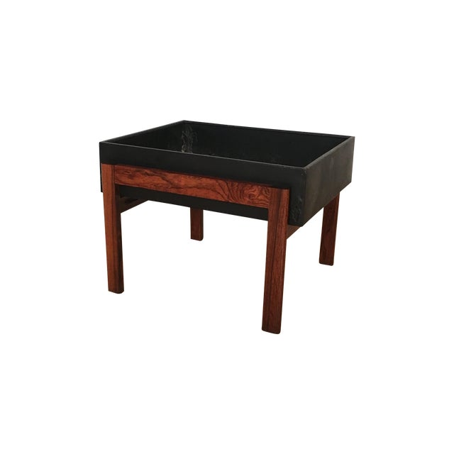 Danish Modern Rosewood Planter - Image 1 of 4