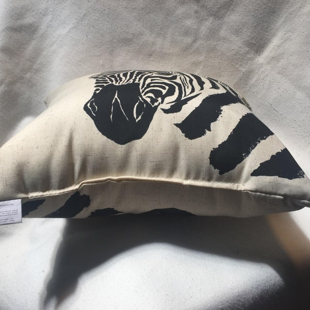 Zebra Print Pillow - Image 7 of 7