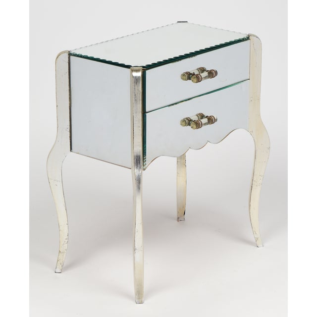 French Art Deco Mirrored Side Tables - A Pair - Image 4 of 10
