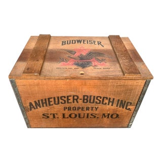 Anheuser-Busch Centennial Beer Crate For Sale