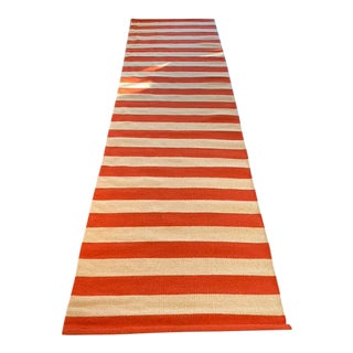 Dwell Studio Modern Striped Floor Runner-2'6″ × 9' For Sale