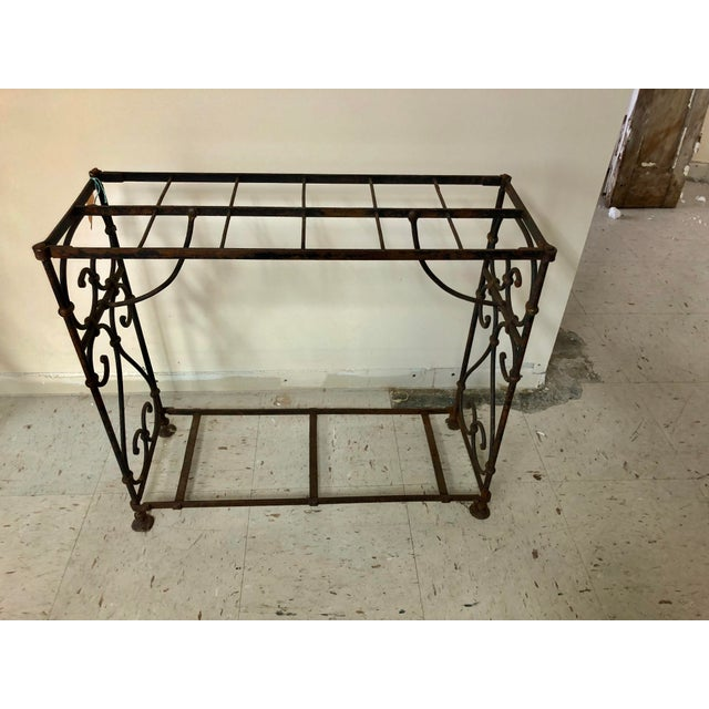 1900s Victorian Iron Stick Umbrella Stand For Sale - Image 4 of 7