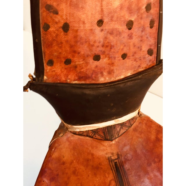 Tuareg Leather Camel Saddle From Niger Agadez Africa For Sale In Los Angeles - Image 6 of 12