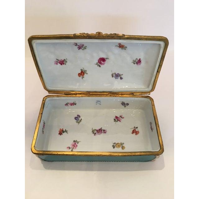 Capodimonte Cupid Hinged Box - Image 7 of 10