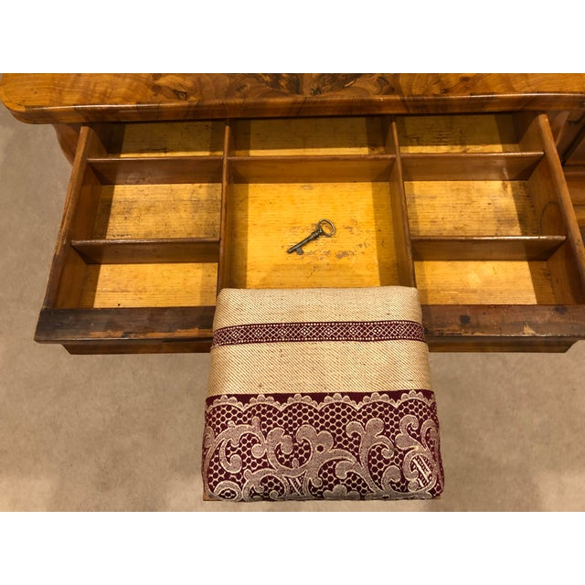 1820s Biedermeier Sewing Table For Sale - Image 4 of 7
