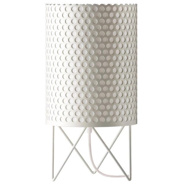 Joaquim Ruiz Millet 'ABC' Table Lamp in White For Sale - Image 4 of 4