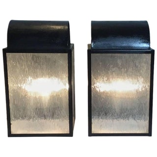 1970s Vintage Wall Lanterns- A Pair For Sale