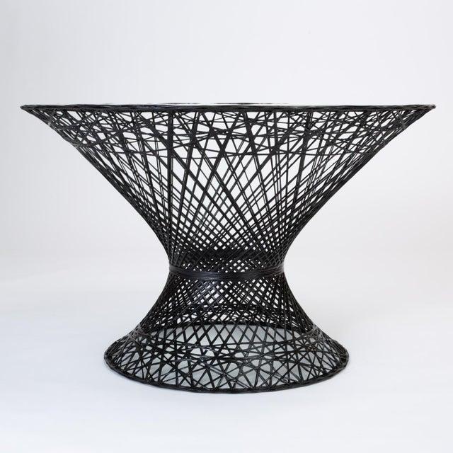 Woodard Furniture Co. Spun Fiberglass Patio Dining Table by Woodard Furniture For Sale - Image 4 of 7
