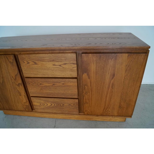 1940s Danish Modern Refinished Sideboard For Sale - Image 12 of 13