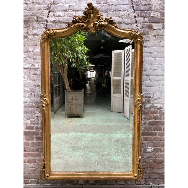 Louis XV Mirror , 19th Century For Sale - Image 9 of 9