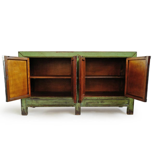 2010s Fern Green Sideboard For Sale - Image 5 of 8