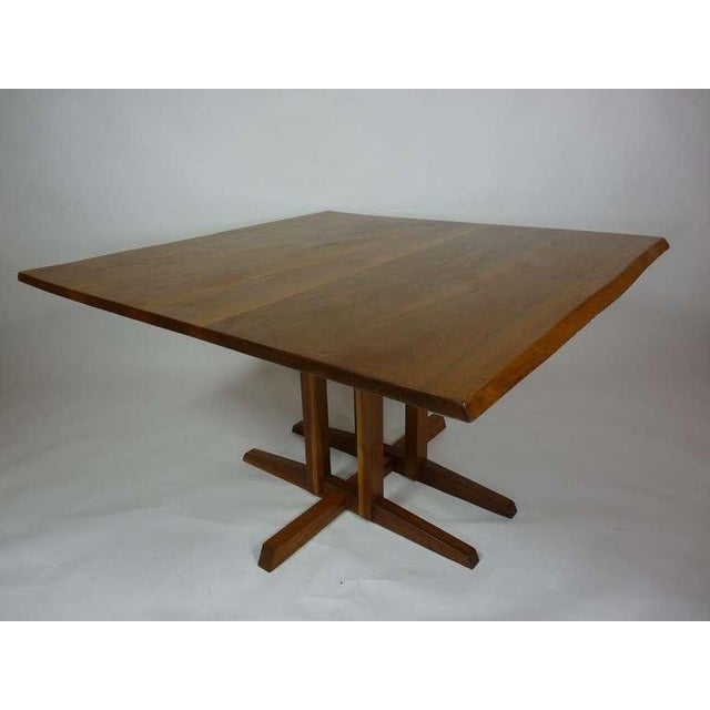 Early 20th Century George Nakashima Frenchman's Cove Dining Table For Sale - Image 5 of 9