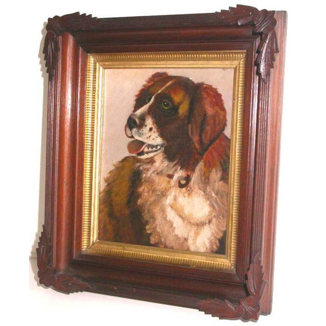 Portrait of a Saint Bernard For Sale In Los Angeles - Image 6 of 6